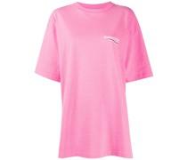 Oversized-T-Shirt mit Logo-Print