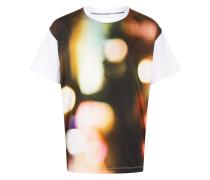 T-Shirt mit verschwommenem Print