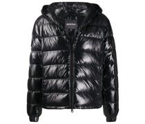 Dubhedue hooded down jacket