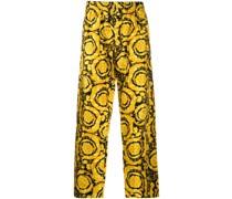"""Pyjama-Hose mit """"Barocco""""-Print"""