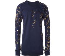 Sweatshirt mit Lochmuster - men - Baumwolle - S