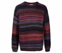 ribbed-knit wool-blend jumper