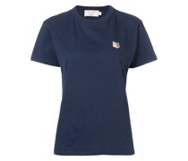 T-Shirt mit Fuchsstickerei