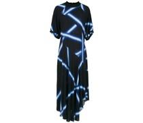 'Lar' Kleid mit Print