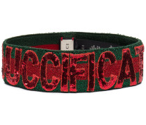sequin Guccification headband