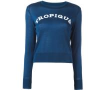 """Pullover mit """"Tropique""""-Print"""