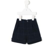 checked shorts