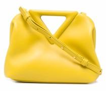 Point Handtasche mit dreieckigen Henkeln