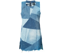 Jeanskleid mit Patchwork-Design - women