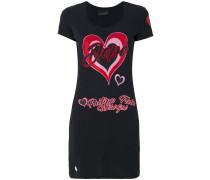T-Shirt mit Herz-Print - women - Baumwolle - XS