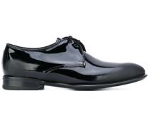 Derby-Schuhe mit Glanzeffekt - men - Leder - 41