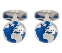 Manschettenknöpfe mit Globus