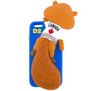 - chewing beaver iPhone 6 case - men - Silikon