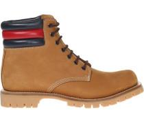 Stiefel mit Webstreifen - men - Leder - 10