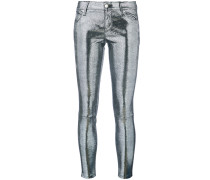 Metallische Leggings