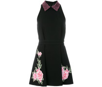 embroidered jeweled collar dress