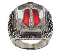Gravierter Ring mit Käfer