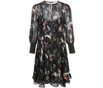 'Tokyo Lights' Kleid mit Cropped-Ärmeln