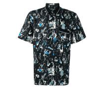 Poloshirt mit Jazz-Print