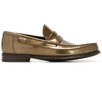 Loafer aus gebürstetem Leder