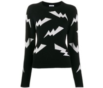 P.A.R.O.S.H. Pullover mit Blitzmuster