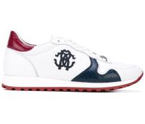 - Sneakers mit Logo-Applikation - men