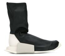 'Level' High-Top-Sneakers in Socken-Optik