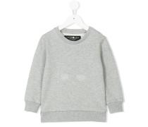 skull motif sweatshirt