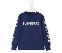 "Sweatshirt mit ""Surfboard""-Print"
