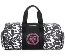 leopard print sports holdall