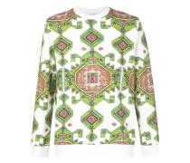 Sweatshirt mit persischem Print
