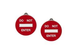 'Do Not Enter' Ohrclips