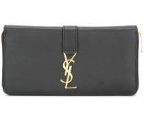 Portemonnaie mit YSL-Monogramm
