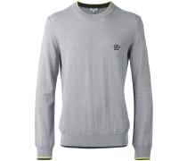Pullover mit Logo-Patch - men