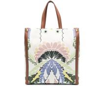 World Arazzo print tote bag