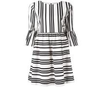 Ausgestelltes Kleid - women - Baumwolle - 8