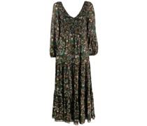 Gestuftes 'Lottie' Kleid mit Print