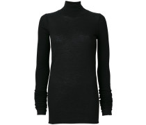 fitted roll-neck sweater