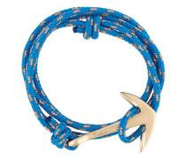 Wickelarmband mit Anker