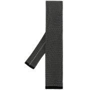 open weave knit tie