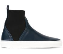 Elastische High-Top-Sneakers