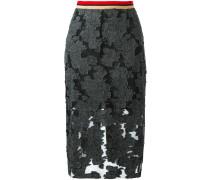 sheer mid skirt