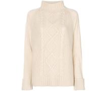 Kaschmir-Pullover mit Grobstrick