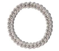 18kt Weißgoldarmband mit Diamanten-Pavé
