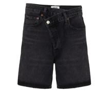 Gewickelte Shorts
