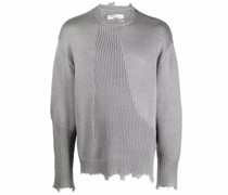Filtered Reality Distressed-Pullover