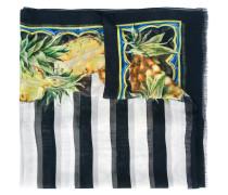 Seidenschal mit Ananas-Print - women - Seide