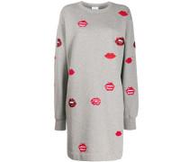 Kleid mit Lippen