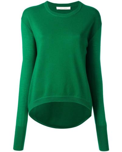 - Pullover mit abgerundetem Saum - women