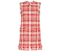 Kariertes Minikleid aus Tweed